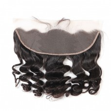 10a brazilian human hair 13*4 Closure Loose Wave lace frontal