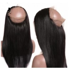 10a brazilian human hair 360 Closure Silky Straight