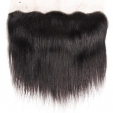 10a brazilian human hair 13*4 Closure Silky Straight lace frontal