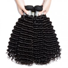 1 bundle of brazilian hair Deep Wave 10a grade hair for sale