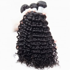 1 bundle of brazilian hair Deep Curly 10a grade hair for sale