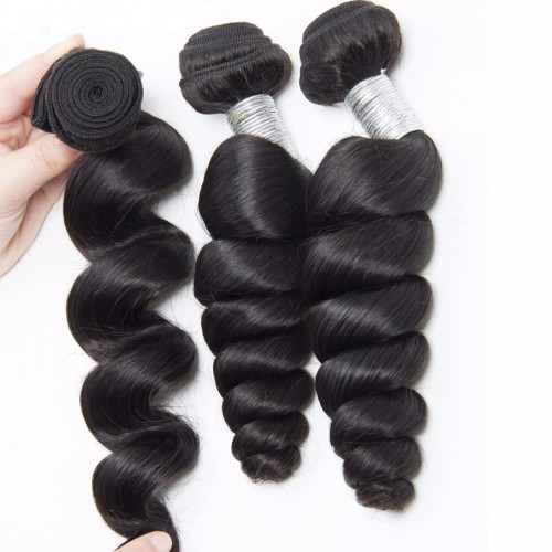 1 bundle of brazilian hair Loose Wave 10a grade hair for sale
