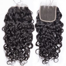 10a brazilian human hair 4*4 Lace Closure Natural Wave