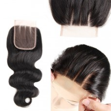 10a brazilian human hair 4*4 Lace Closure Body Wave