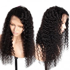 10a brazilian hair wholesale 13x4 Wig Deep Curly lace frontal